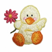 Decorative Patches - Yellow Duck