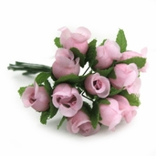 Decorative Wedding Flower 12 Pack Bundle - Pink