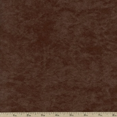 Deer Suede Polyester Fabric - Chocolate