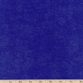 Deer Suede Polyester Fabric - Royal
