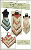 Delicious Four Corners Apron From Vanilla House Designs