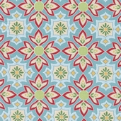 Delighted! Cotton Fabric - Blue