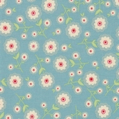 Delighted! Cotton Fabrics - Blue
