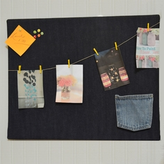 Denim Bulletin Board
