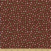 Dessert Party Cotton Fabric - Chocolate Sprinkles