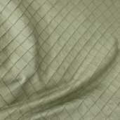 Diamond Stitch Faux Suede - Green Tea