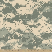 Digital Camo Desert Nylon Fabric
