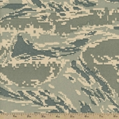 Digital Camo Tiger Desert Nylon Fabric