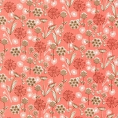 Dill Blossom Cotton Fabric - Spring