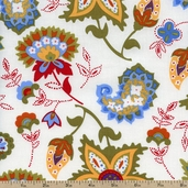 Dilly Day Field Cotton Fabric - Multi 120-4481