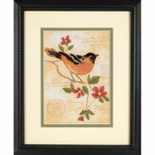 Dimensions Crewel Elegant Oriole Mini Stitchery Kit
