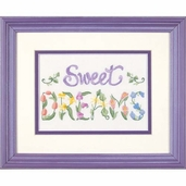 Dimensions Crewel Flowery Sweet Dreams Mini Stitchery Kit