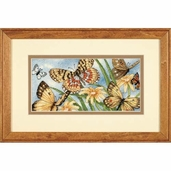 Dimensions Cross Stitch Kit: Butterfly Vignette