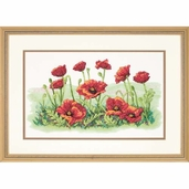 Dimensions Cross Stitch Kit: Field Of Poppies