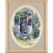 Dimensions Cross Stitch Kit: Garden Door