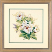 Dimensions Cross Stitch Kit: Hibiscus Floral
