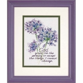 Dimensions Cross Stitch Kit: Serenity Prayer Mini Stitchery Kit