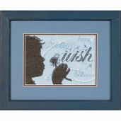 Dimensions Cross Stitch Kit: Wish Mini Stitchery Kit