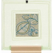 Dimensions Handmade Embroidery Kit: Leaves