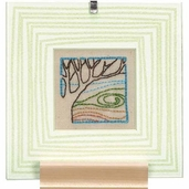 Dimensions Handmade Embroidery Kit: Trees