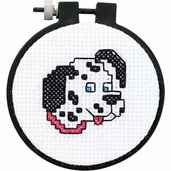 Dimensions Learn a Craft Counted Cross Stitch Kit: -  Cute Dalmatian