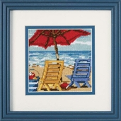 Dimensions Needlepoint Beach Chair Mini Stitchery Kit