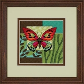 Dimensions Needlepoint Butterfly Impression Mini Stitchery Kit