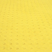Dimple Minky Polyester Fabric - Canary