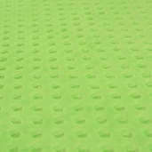 Dimple Minky Polyester Fabric - Dark Lime