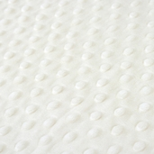 Dimple Minky Polyester Fabric - Ivory