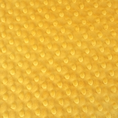 Dimple Minky Polyester Fabric - Mango
