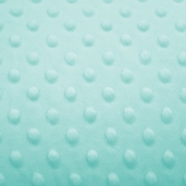 Dimple Minky Polyester Fabric - Tiffany Blue