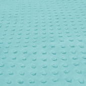 Dimple Minky Polyester Fabric - Topaz