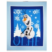 Disney Frozen Olaf Panel Cotton Fabric