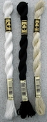 DMC Pearl Cotton Embroidery Floss Size 3 - White