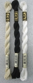 DMC Pearl Cotton Embroidery Floss Size 5 - White