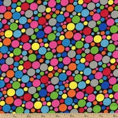 Dotcom Small Dots Cotton Fabric - Multi 35994-1