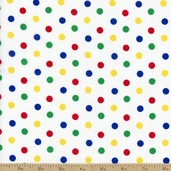 Dots and Stripes Small Dot Cotton Fabric