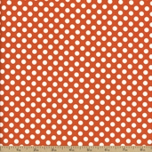 Dots Cotton Fabric - Small - Orange C350-60