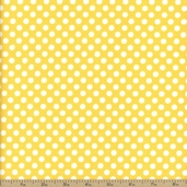 Dots Cotton Fabric - Small - Yellow C350-50