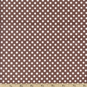 Dotties Sweet Shop Candy Dots Cotton Fabric - Chocolate DSSH-606Z - Clearance