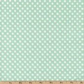 Dotties Sweet Shop Candy Dots Cotton Fabric - Mint DSSH-606G