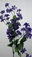 Double Baby's Breath Spray 19in Box of 24 - Purple