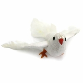 Dove Flying Artificial Feather Bird 3in. - Pkgs of 3