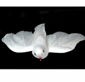Dove Flying Open Wings 4-1/2 inch Pkgs of 3