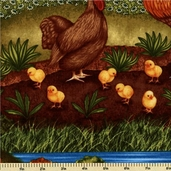 Down on the Farm Cotton Fabric - Harvest ADO-8345-196