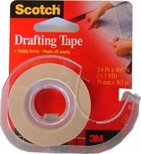 Drafting Tape w/ Dispenser 3/4 x 400 in