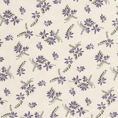 Dragonfly Summer Cotton Fabric - Light Cream