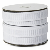 Dritz 3/4 inch Non-Roll Elastic Bundle- White