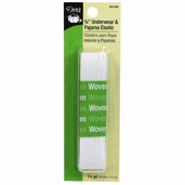 Dritz 3/4 inch� Underwear and Pajama Elastic - White